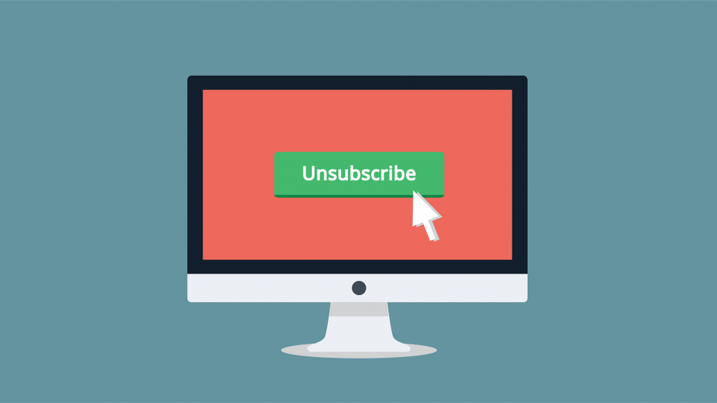 monitor with unsubscribe link