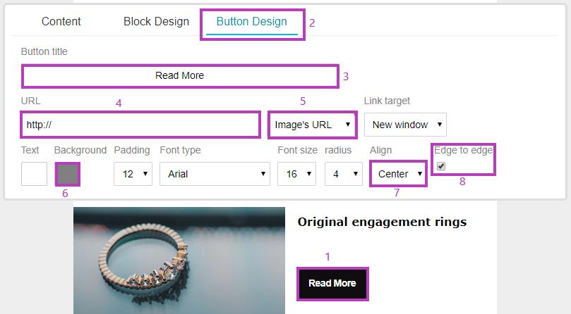 Edit campaign - button