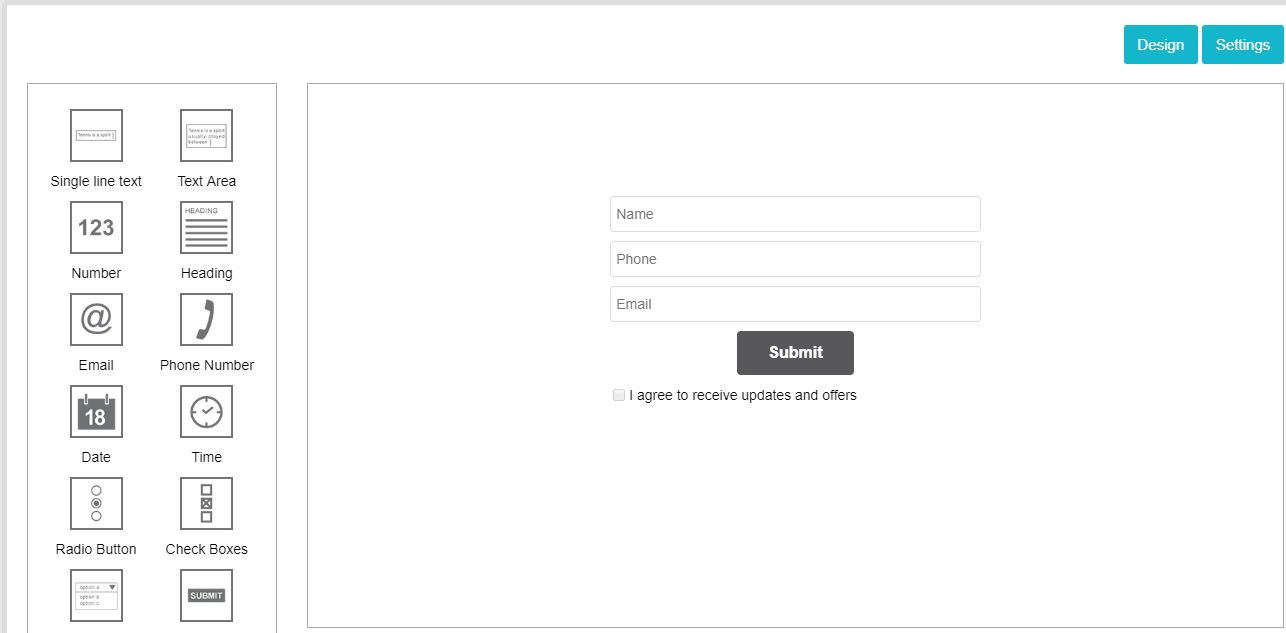 Feature - Sign up form