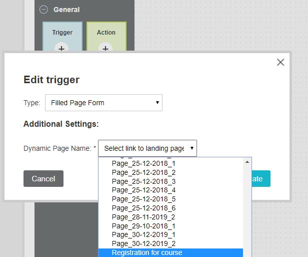 edit trigger