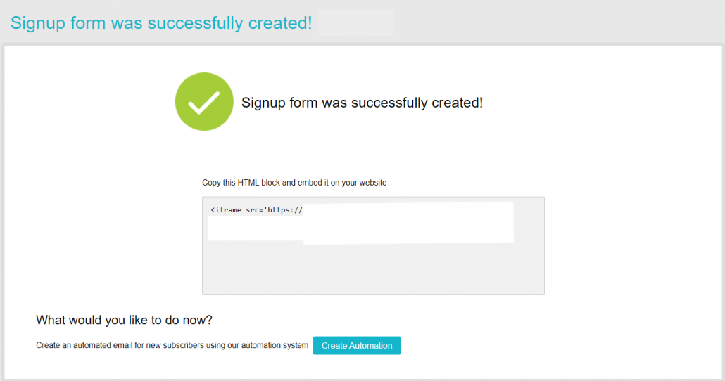 Signup form-was-successfully-created